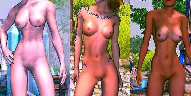 Sacred 2 nude skins