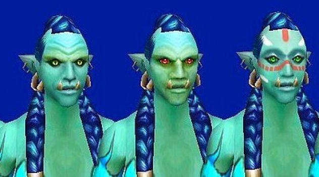 Troll Female Face