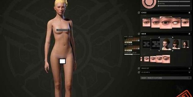 Eve Incursion nude mod