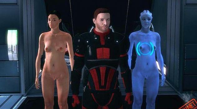 Mass effect nude skins