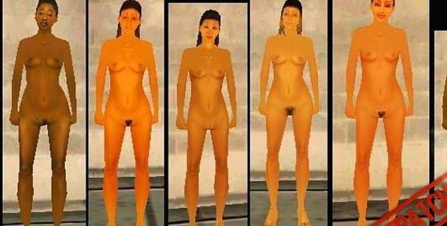 Nude friends GTA San Andreas nude mod