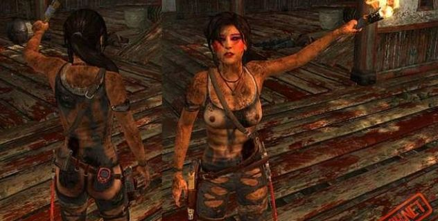 Lara croft 2013 nude mod  – Dirty n Ripped