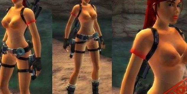 Tombraider nude outfit