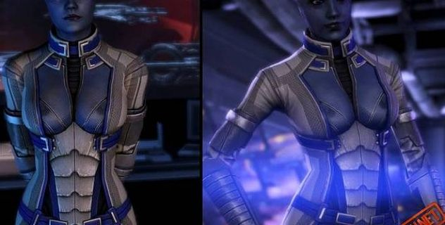 MassEffect3 Liara's nude patch