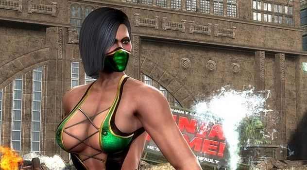 Mortal Kombat 9 nude patch Jade