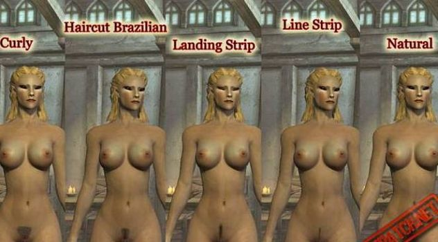 Skyrim nude female Pack – HighRes