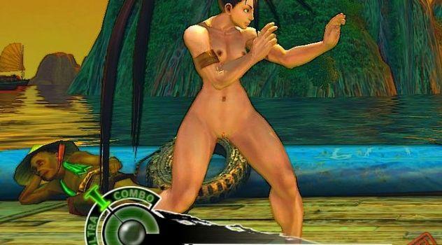 Super Street Fighter IV AE – Ibuki nude patch