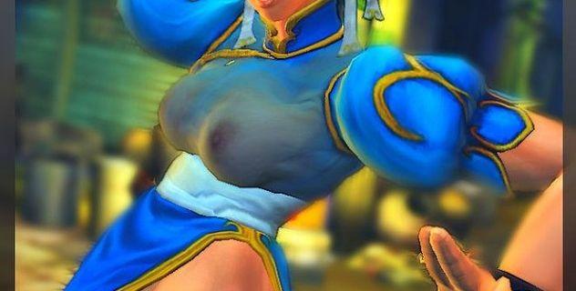 Naughty Chun Li nude skins for Street Fighter IV