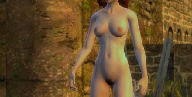 The Witcher nude patch