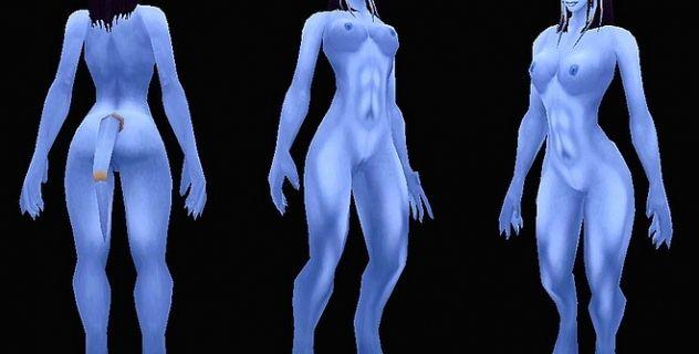 Buff Females Nude mod
