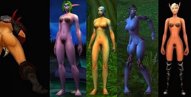 World of warcraft nude addons