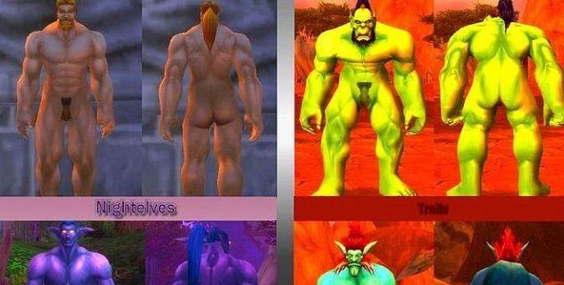 Nude Males mod