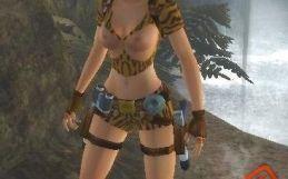 Lara mod sexy jungle outfit
