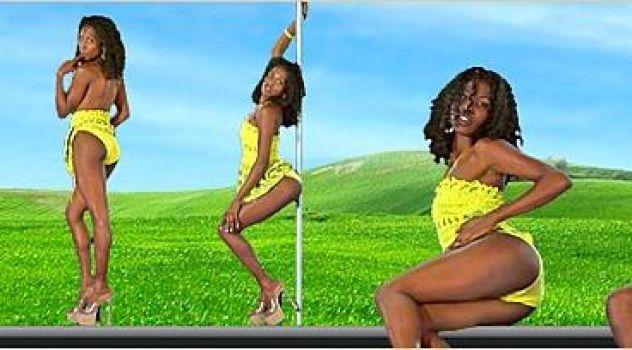 Virtual Girl Krystel, desktop: Vanilla sugar..