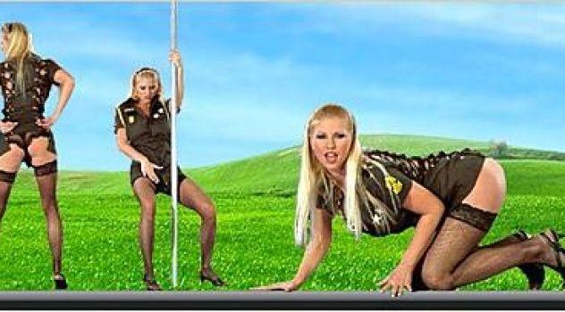 Nikita Valentin Stockings, Army, Desktop Nude Patch, Big Boobs