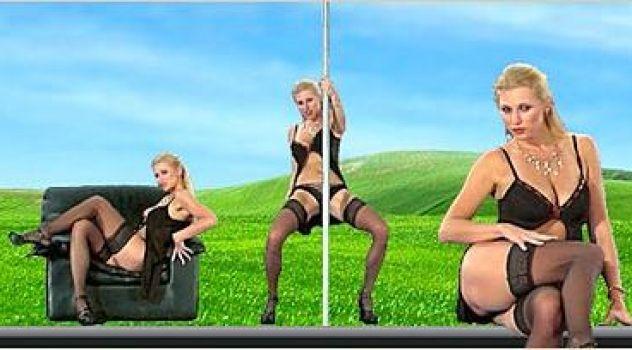 Nikita Valentin Lingerie, Stockings, High Heels..