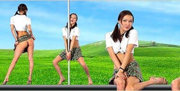 Virtual Girl Map, desktop: Beijing student..