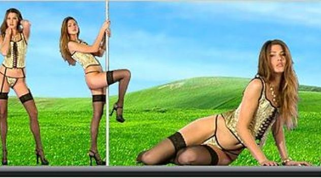 Virtual Girl Chiara, desktop: The mansion..