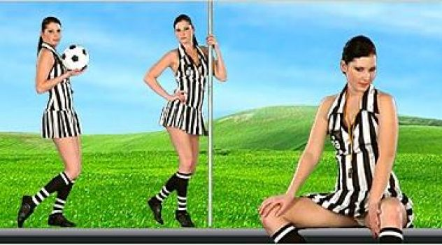 Virtual Girl Belicia, desktop: Goal !!! Stripper..