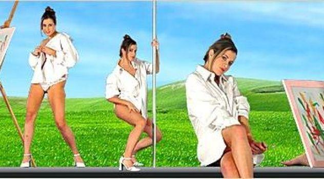Virtual Girl Elya, desktop: Artistix Stripper..