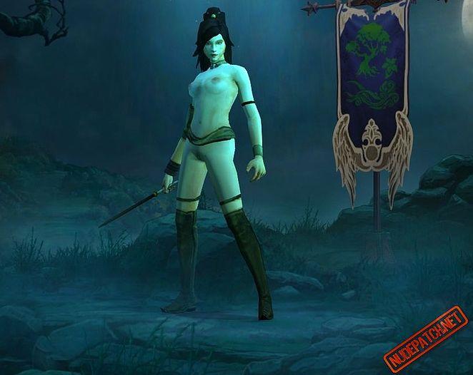 sexy naked girl demons
