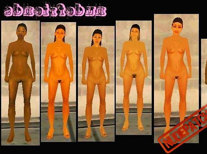 Gta san andreas naked girls