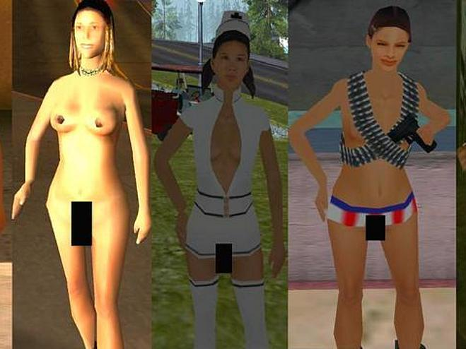 Gta nude gf patches