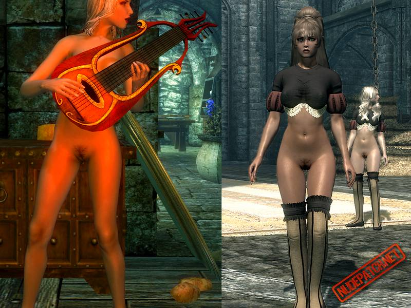 So? Skyrim nude patch
