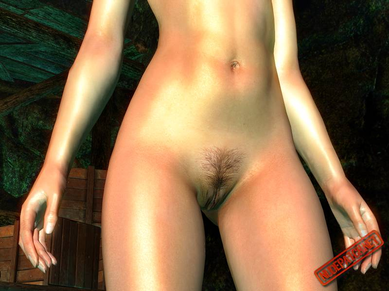 Naked girls playing skyrim