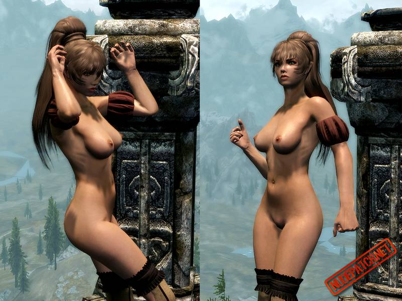 skyrim playing Naked girls