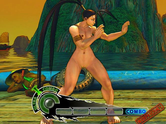 Street Fighter 4 Naked