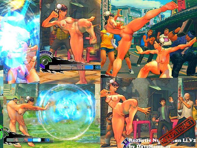 Chun li street fighter naked