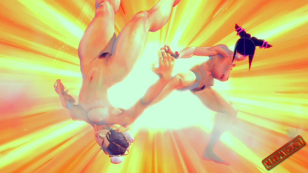 Street fighter nude characters