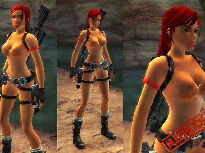 Tombraider nude outfit. Nude outfit with naked patch for TRL patches of ...