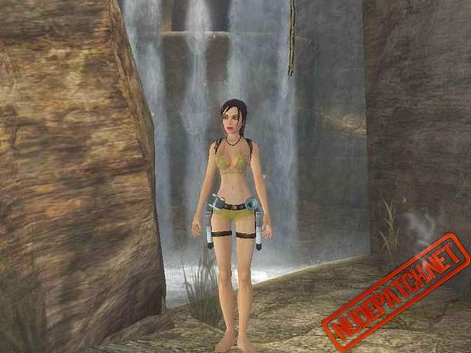 tomb raider girl topless