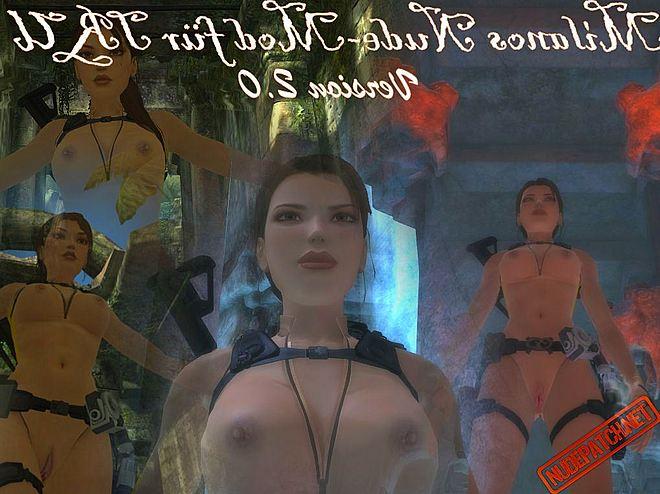 transparent Tomb nude underworld raider