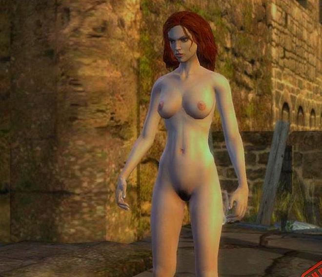 Mod nude witcher 2
