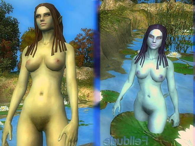 The Witcher Nude Skins