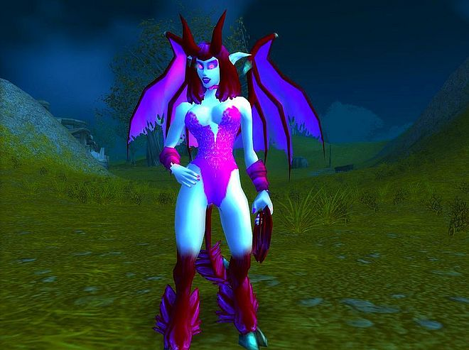 Think, world of warcraft succubus nude