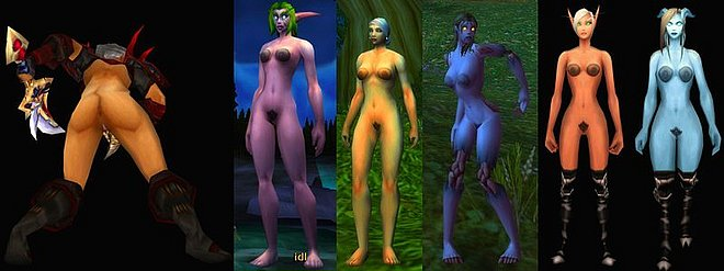 female warcraft World of nude human