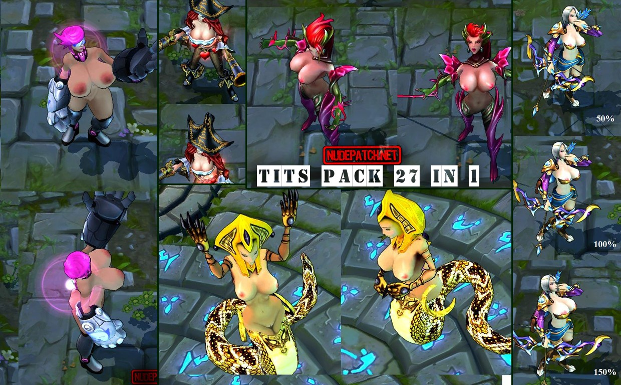League of Legends - Bit Tits Ultimate Pack