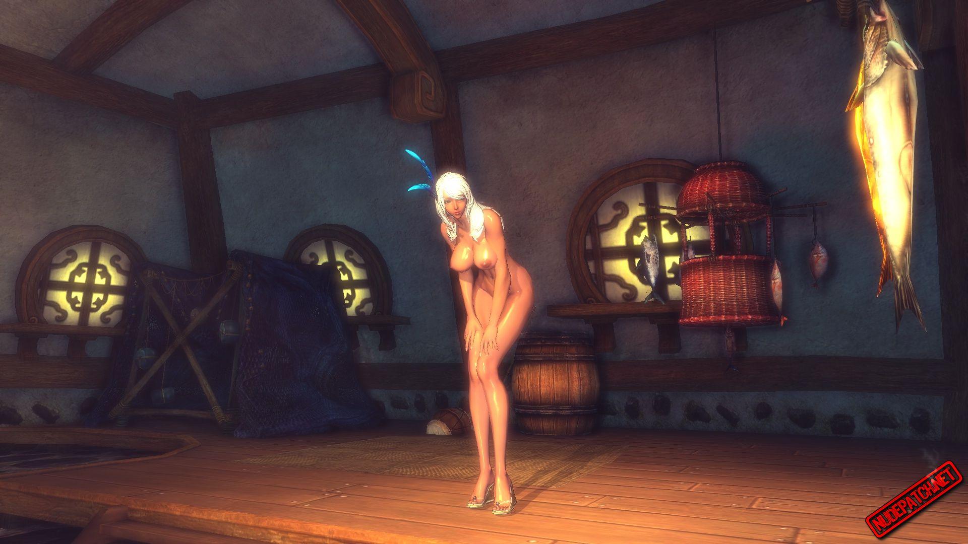 Borderlands Nude Mod Delightful blade and soul: nude mod