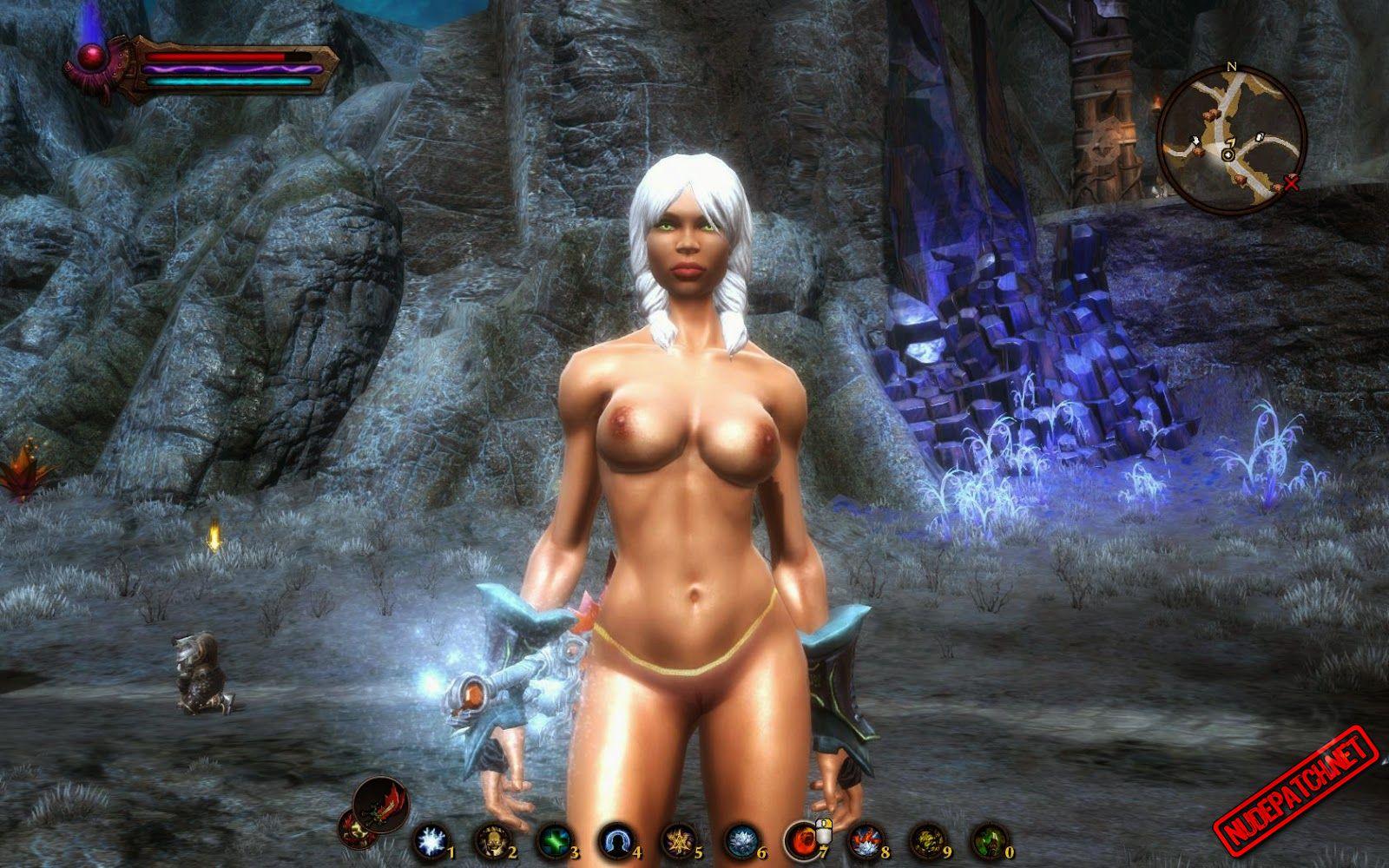 Borderlands Nude Mod Great kingdoms of amalur | nude patch