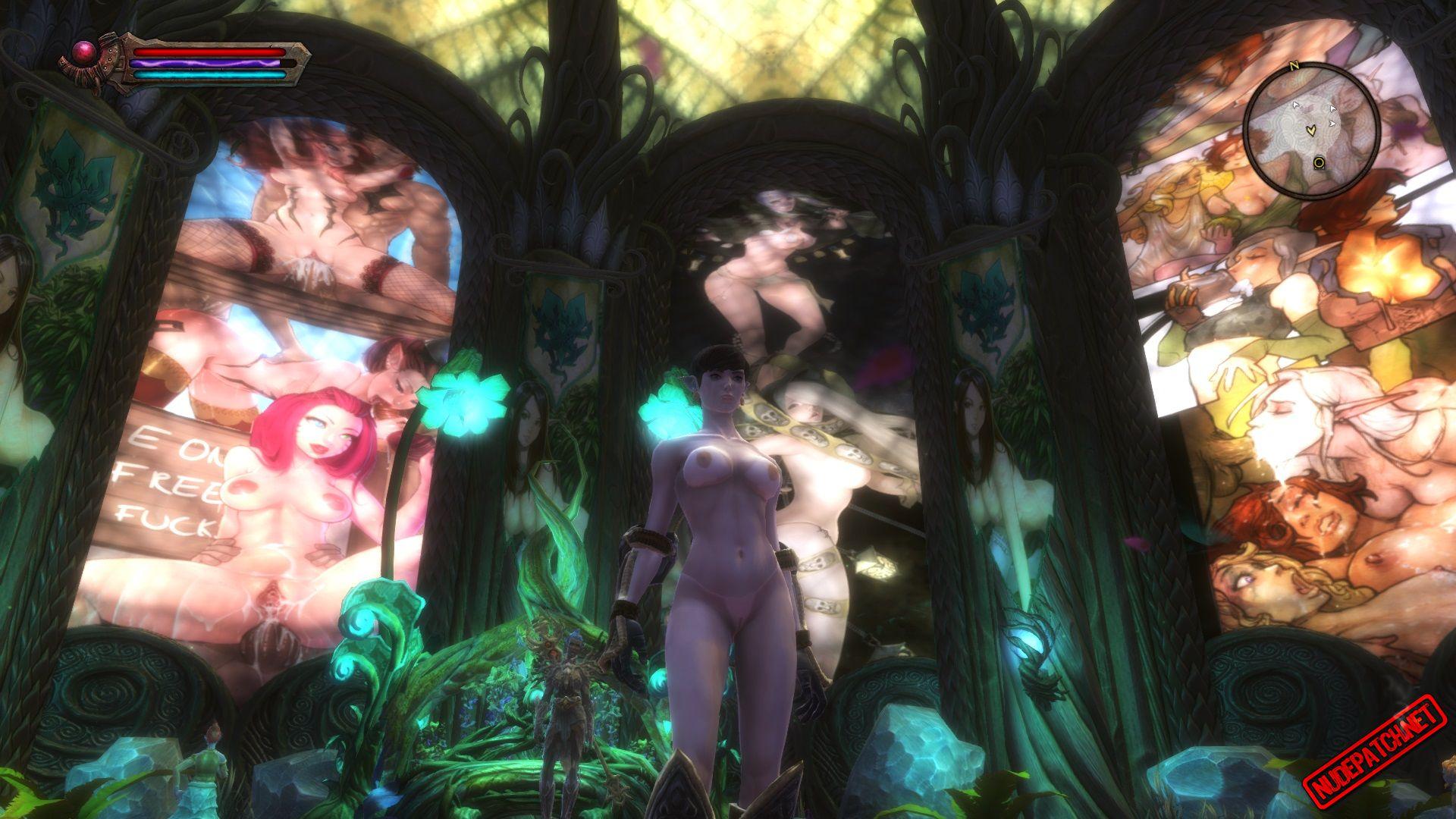 Borderlands Nude Mod Pretty kingdoms of amalur: vitrage nude mod