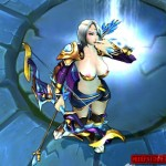 League of Legends Ashe nude patch 2