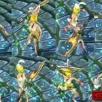 League of Legends Riven nude skin