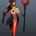 League of Legends nude Nami Base