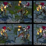 League of Legends nude Shyvana Mod Preview