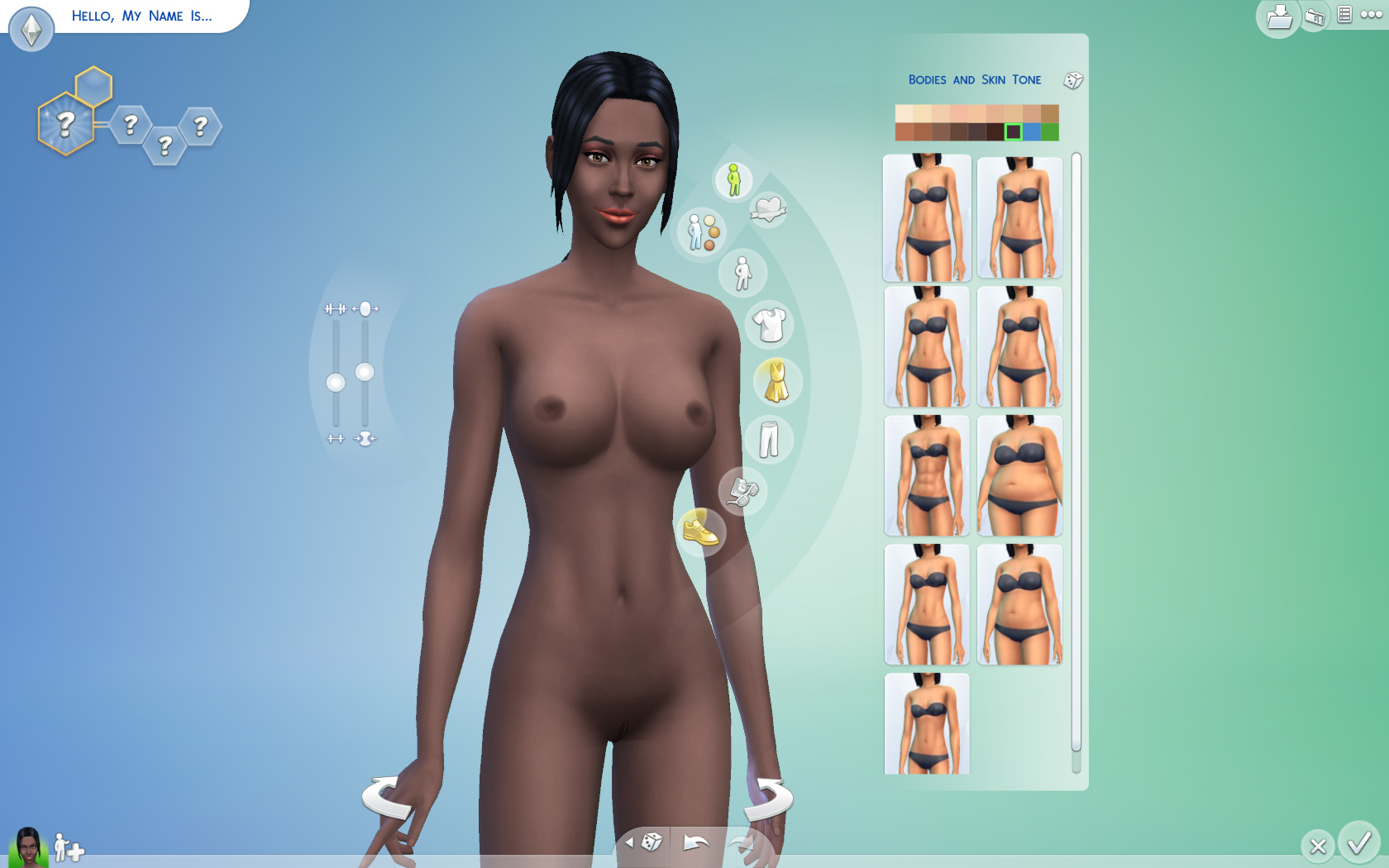 cheat sims Nude