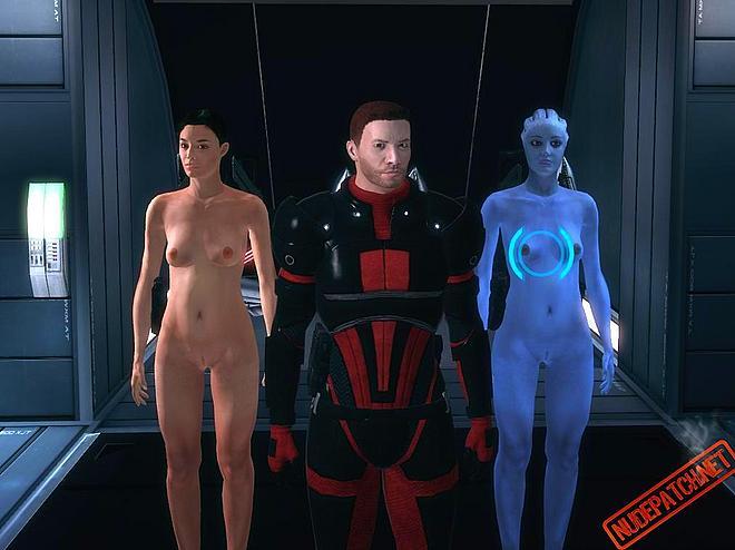Mass Effect Голые Моды